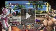 Tekken Tag Tournament 2 : Contenu consoles