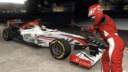 vidéo : Project CARS - PC - Ultra - 1080p - Arrêt au stand en F1 à Dubaï de nuit