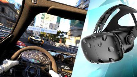 Vid�o : Project Cars en Réalité virtuelle : Notre vidéo qui montre VRAIMENT à quoi cela ressemble avec l'effet de grille perçu dans le HTC Vive