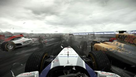 vidéo : Project CARS - PC - Ultra - 1080p - Tempête en F1 sous la pluie sur Silverstone