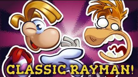 Vid�o : Rayman Origins : Mod Rayman 1