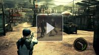 Resident Evil 5 : comparo X360 - PS3