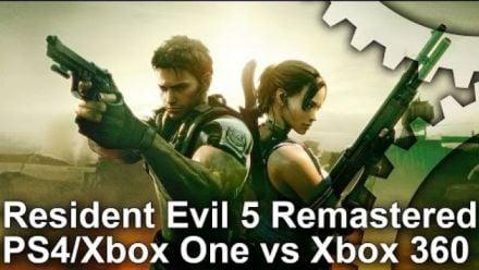 Resident Evil 5 - Test Framerate