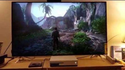 Vid�o : Uncharted 4 upscalé en 4K sur Xbox One S