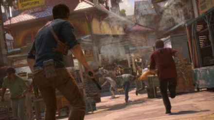 UNCHARTED 4  A Thief End - E3 2015 - Sam Pursuit Gameplay PS4
