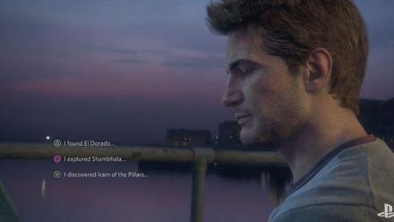 Uncharted 4 : Nouvelle vidéos du PlayStation Experience