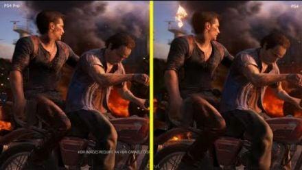 Uncharted 4 : PS4 Vs PS4 Pro