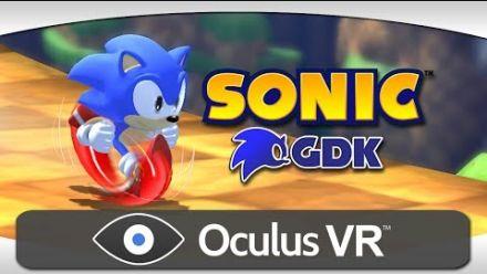 Sonic GDK Oculus Rift