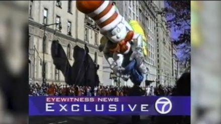 Vid�o : Le ballon de Sonic crève pendant la parade de Thanksgiving de 1993