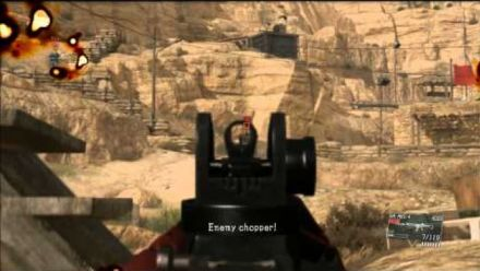 MGSV Best Helicopter Support Ever