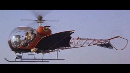 Metal Gear Solid 5: Batman Helicopter