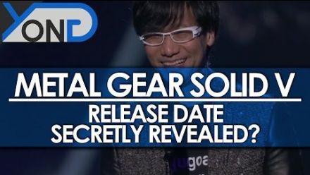 Metal Gear Solid 5 : Kojima aurait-il donné la date de sortie ?