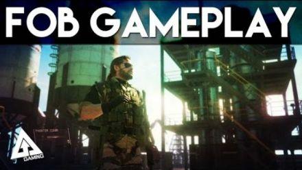 Metal Gear Solid 5 Mutliplayer Gameplay FOB Online