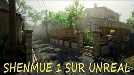 vidéo : Shenmue recréé à l'aide de l'Unreal Engine 4