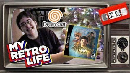 Vidéo : Shenmue : Il unboxe et découvre le jeu pendant Noël 2000