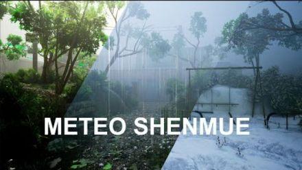 Vid�o : Shenmue : Les différentes conditions climatiques sous Unreal Engine 4