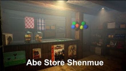 Vid�o : Shenmue : Abe Store sous Unreal Engine 4
