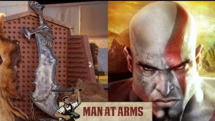 God of War : les lâmes du chaos recréées en vrai
