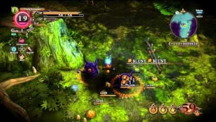 Gameplay The Witch and the Hundred Knight