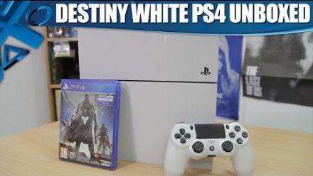 Destiny : The White PS4 Bundle Unboxed!