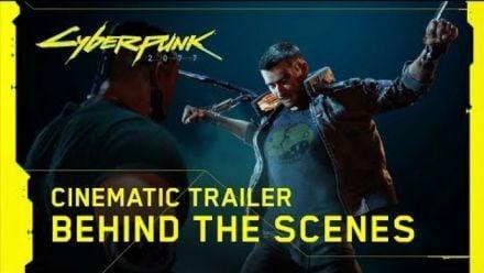 Cyberpunk 2077 :  Behind the Scenes du trailer E3