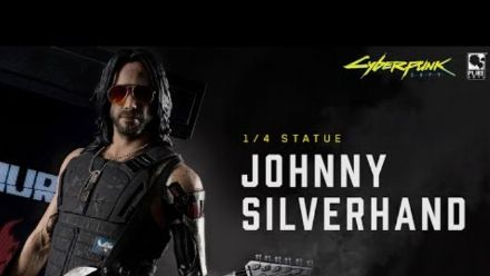 Purearts Presents the Johnny Silverhand 1/4 Scale Statue from Cyberpunk 2077!