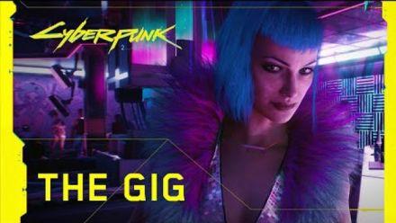 Cyberpunk 2077 -- Official Trailer -- The Gig