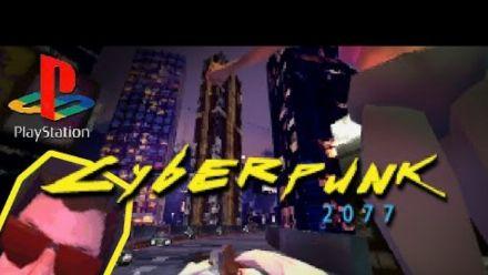 Cyberpunk 2077 but it's for PS1 (vidéo d'Anders Lundbjörk)