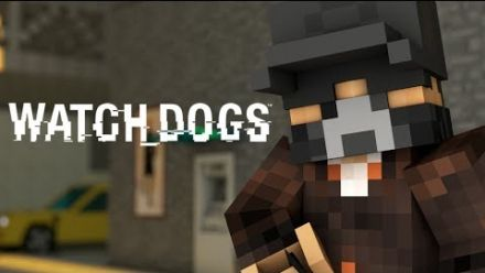 Watch Dogs sous Minecraft