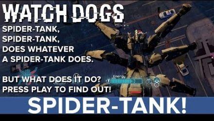 Watch Dogs - Robot araignée