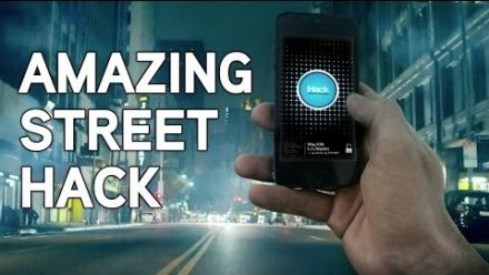 vid�o : Watch Dogs : faux hack smartphone caméras cachées