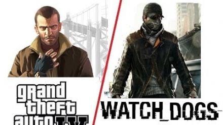 Watch Dogs Vs. GTA 4 - Comparatif 2