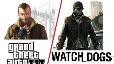 Watch Dogs Vs. GTA  4 - Comparatif