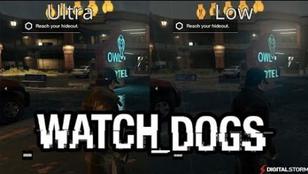 Comparatif Watch_Dogs PC : Ultra vs Low