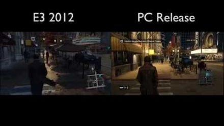 Watch Dogs - E3 2012 vs PC Release (Ultra)