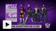 Vid�o : Saints Row IV - GAT V Pack Trailer