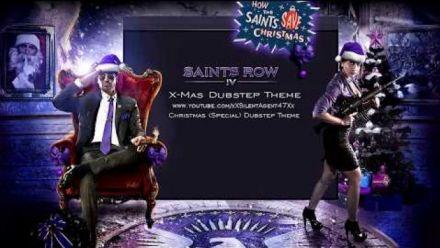 Vid�o : Saints Row IV : Christmas Dubstep Gun Music