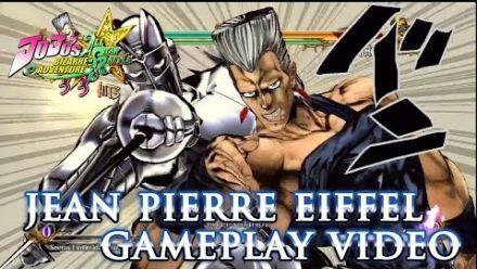 Vidéo : Jojo's Bizarre Adventure All Star Battle : Polnareff