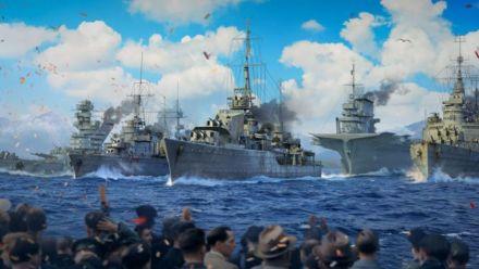 Vidéo : World of Warships : Lien Twitch de la parade navale
