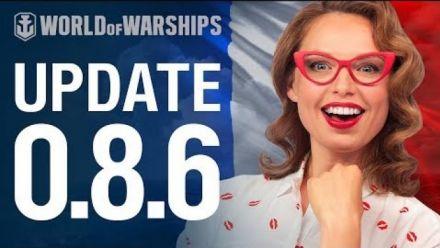 Vidéo : Update 0.8.6 | World of Warships