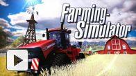 Vid�o : Farming Simulator - Le trailer de lancement PS3 et 360