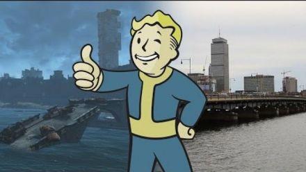 Fallout 4 : Boston réel vs jeu