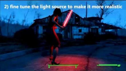 Sabre laser dans Fallout 4