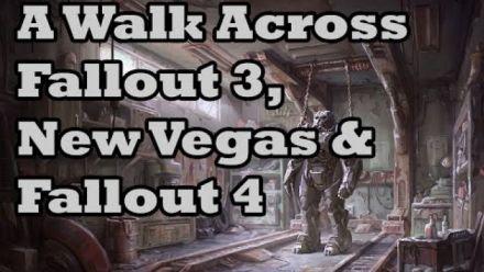 Il traverse les maps de Fallout 3, New Vegas et Fallout 4