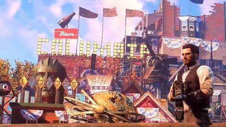 Fallout 4 : Un fan recrée la cité de Columbia de Bioshock Infinite