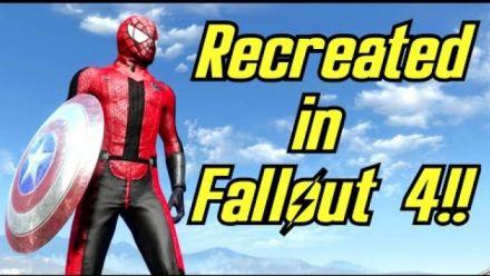 Captain America Civil War : La bande-annonce recréée dans Fallout 4