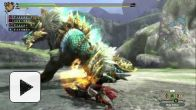 vidéo : Monster Hunter 3 Ultimate : Zinogre Gameplay