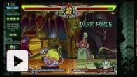 Vid�o : Darkstalkers Resurrection - Vidéo training