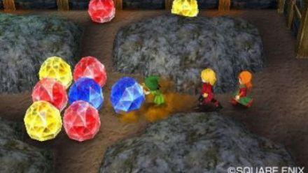Vid�o : Dragon Quest VII : Les combats en vidéo