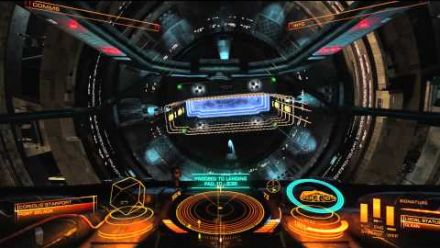 Elite: Dangerous Alpha Phase 3.0 - Docking Tutorial